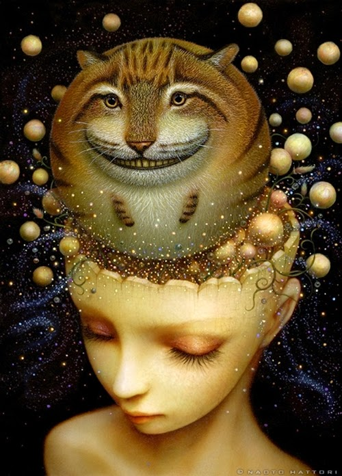 15-Mind-Universe-Naoto-Hattori-Dream-or-Nightmare-Surreal-Paintings-www-designstack-co