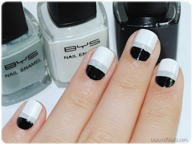 How To Silver Lining Manicure