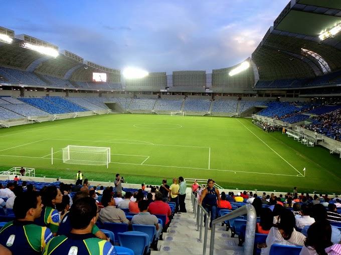Arena das Dunas: Pontapé inicial de Dilma Rousseff marca a abertura oficial do estádio