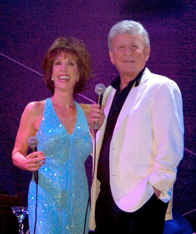 Bobby Rydell and Dena Martin (Dean Martins daughter) last week
