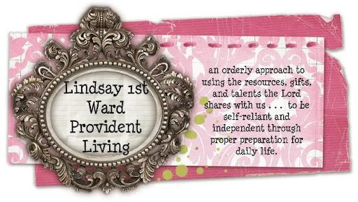 Lindsay 1st Ward Provident Living