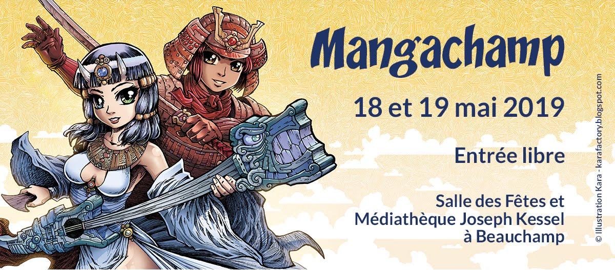 Mangachamp - 18 et 19 mai 2019