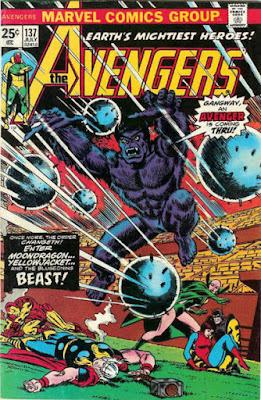Avengers #137, the Beast