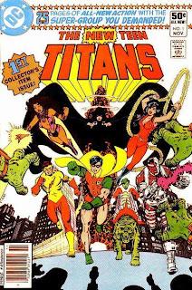 Nuevos Titanes Comic