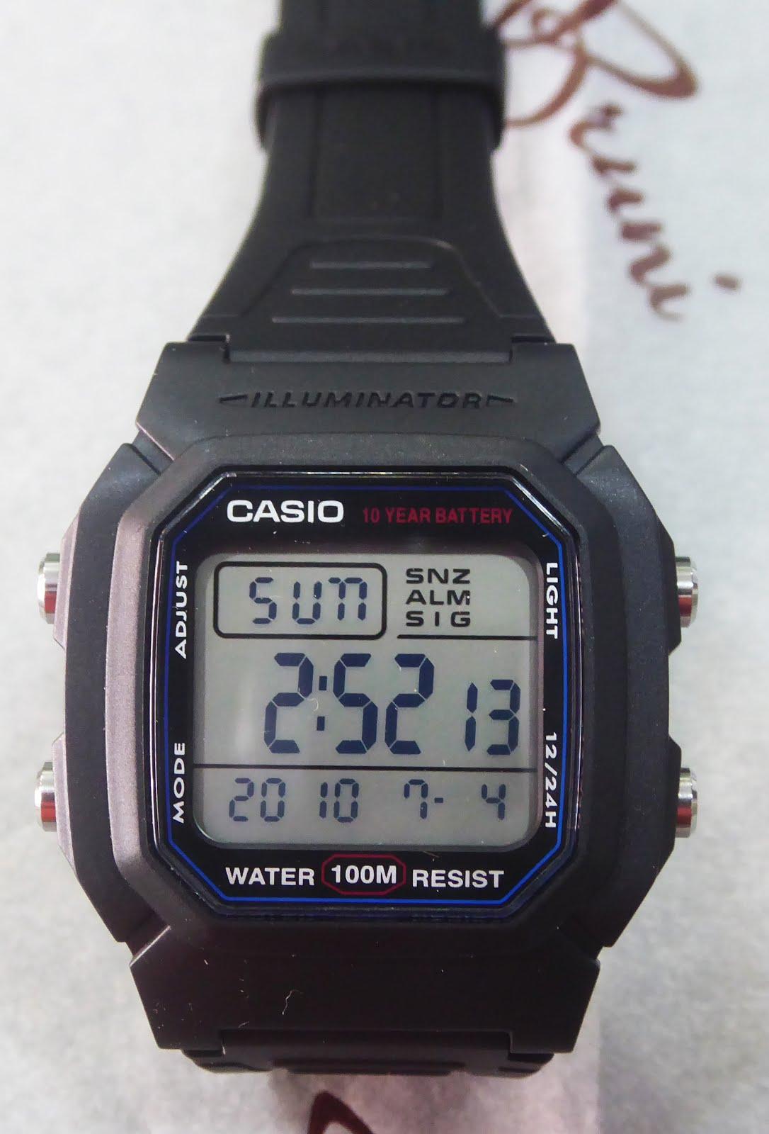 Reloj Casio 100 M