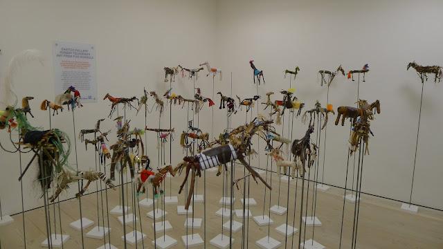 The twiggy herd on sticks
