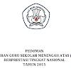 Pedoman Pemilihan Guru SMA Berprestasi Tingkat Nasional Tahun 2015