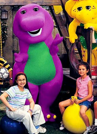 Barney ve Arkadaşları Çizgi Filmi Oyunu