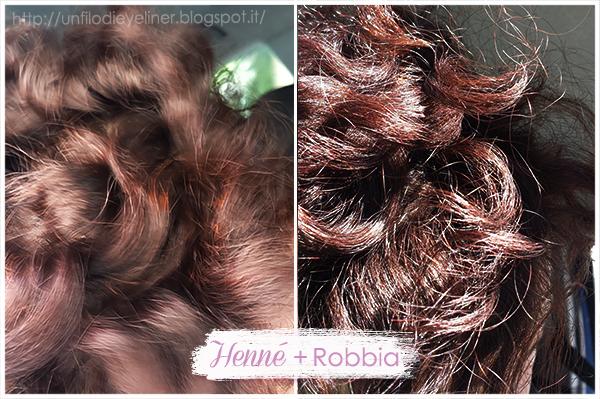 Le Erbe di Janas: Henné rosso caldo + Robbia - Swatch Capelli