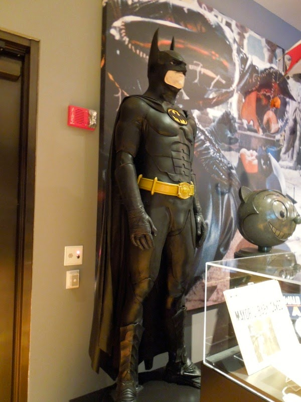 Original Michael Keaton Bat-suit Batman Returns