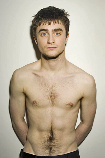 Today's sexiest Sex Puppy has got to be Daniel Radcliffe, aka Harry Potter: