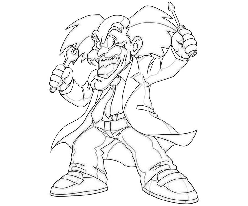 dr-wily-repair-coloring-pages