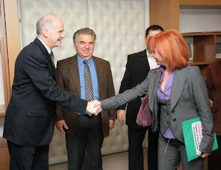 9 Απριλίου 2009 Συνάντηση με την ομάδα της Γάζας Κεντρικά Γραφεία ΠΑΣΟΚ