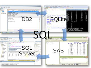 Using SQL for data management