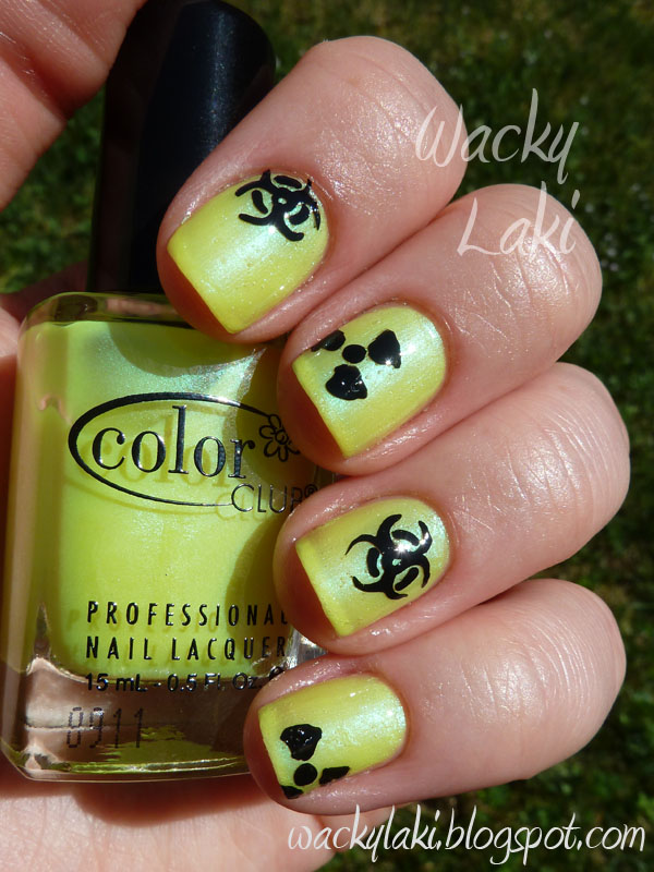 Wacky Laki: Day 3 - Yellow - Color Club Get Your Lem-On