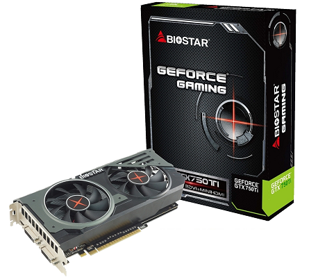 BIOSTAR GeForce GTX750Ti