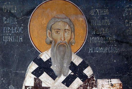 Радуј се, свети Саво, први пастиру и учитељу српски!