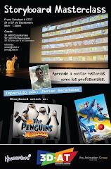 Masterclass Storyboarding. Puebla y México DF. Septiembre 2012.
