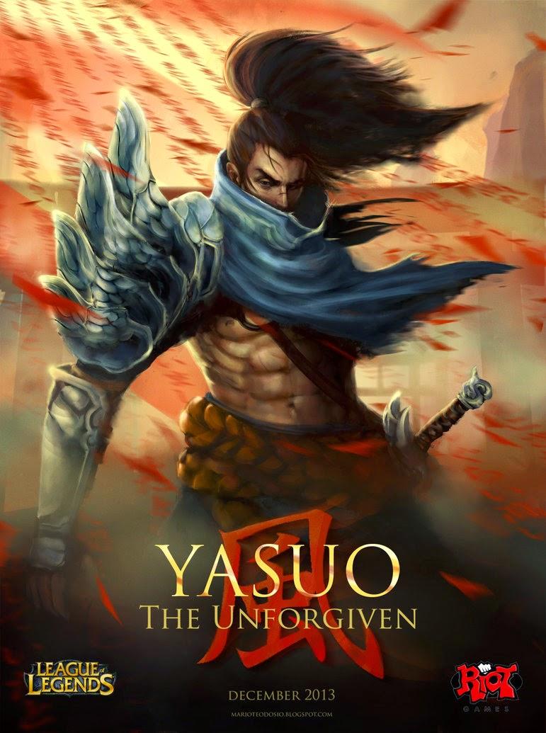 Ảnh Yasuo LMHT LOL đẹp Full HD làm ảnh bìa ảnh nền