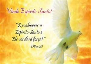 07/10 - Vinde, Espírito Santo!