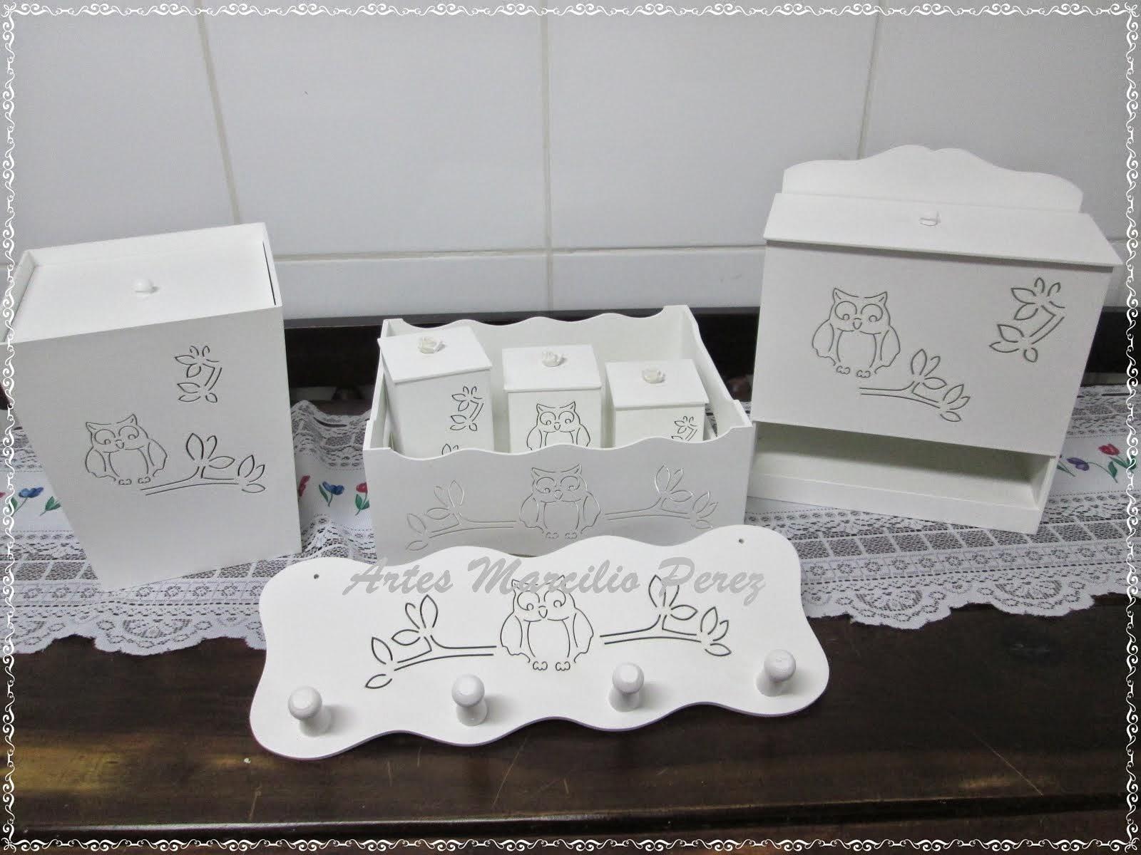 Kit Bebe Higiene Corujinha R$ 150,00