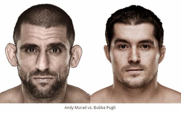 Prelims Andy Murad and Bubba Pugh fight at Bellator MMA 131