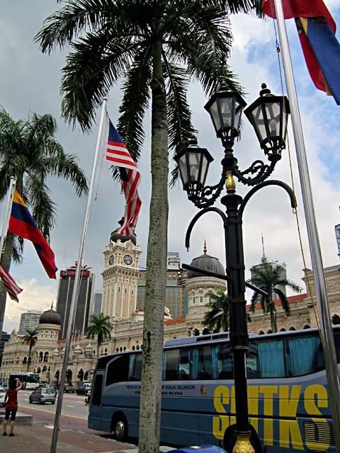 street in Kuala Lumpur in Malaysia