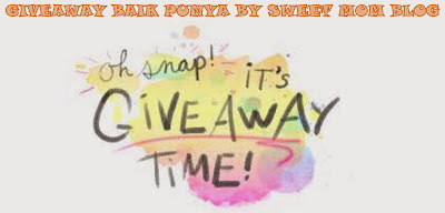 Giveaway Baik Punya Anjuran Sweet Mom Blog