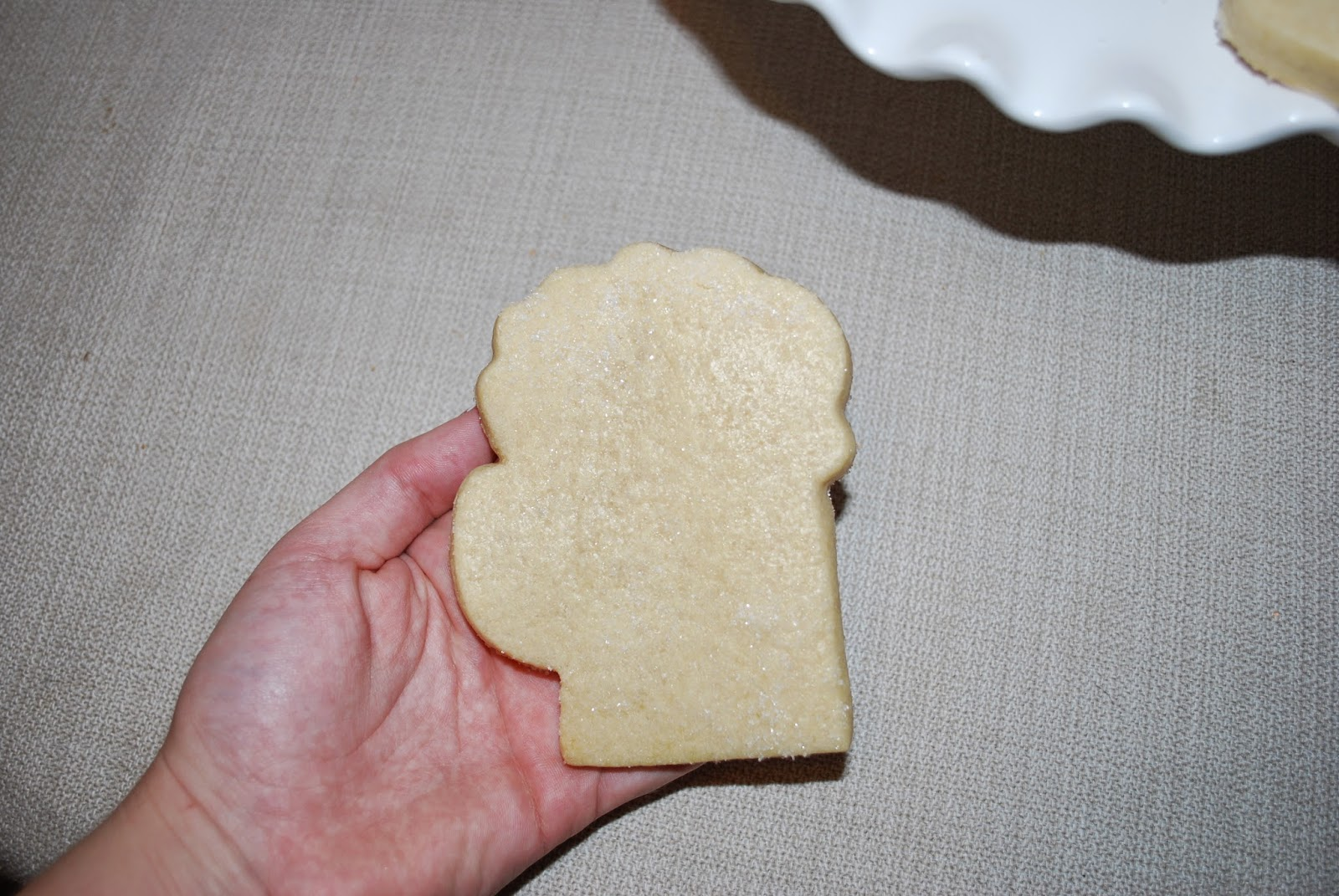 beer mug shaped sugar cookie