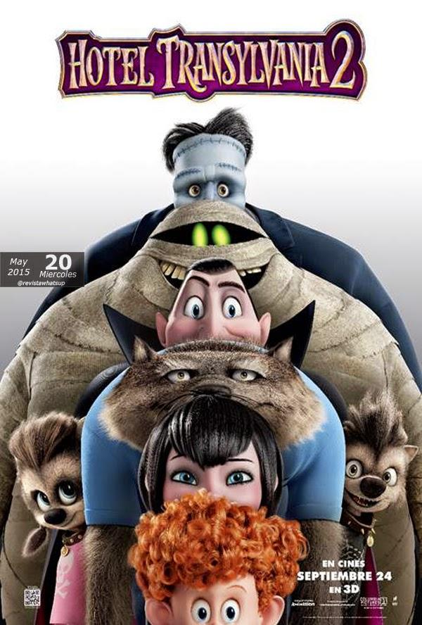 Sony-Pictures-lanza-afiche-oficial-pelicula-Hotel-Transylvania-2-cines-Septiembre-2015