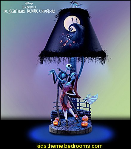 the nightmare before christmas moonlight lamp - Nightmare Before Christmas Bedding Queen