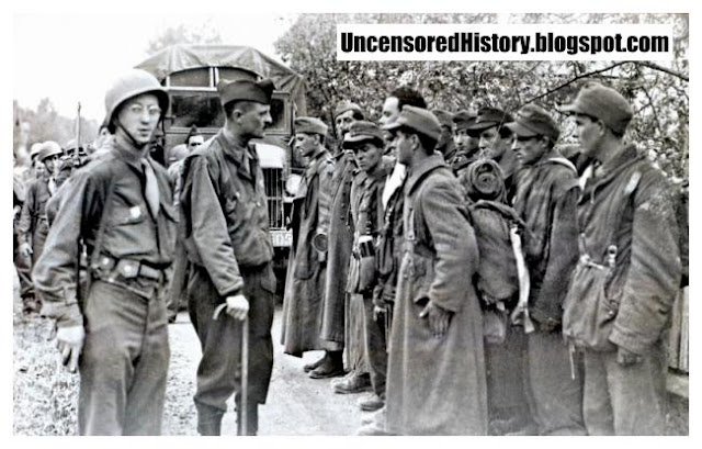 French ill treated German prisoners WW2
