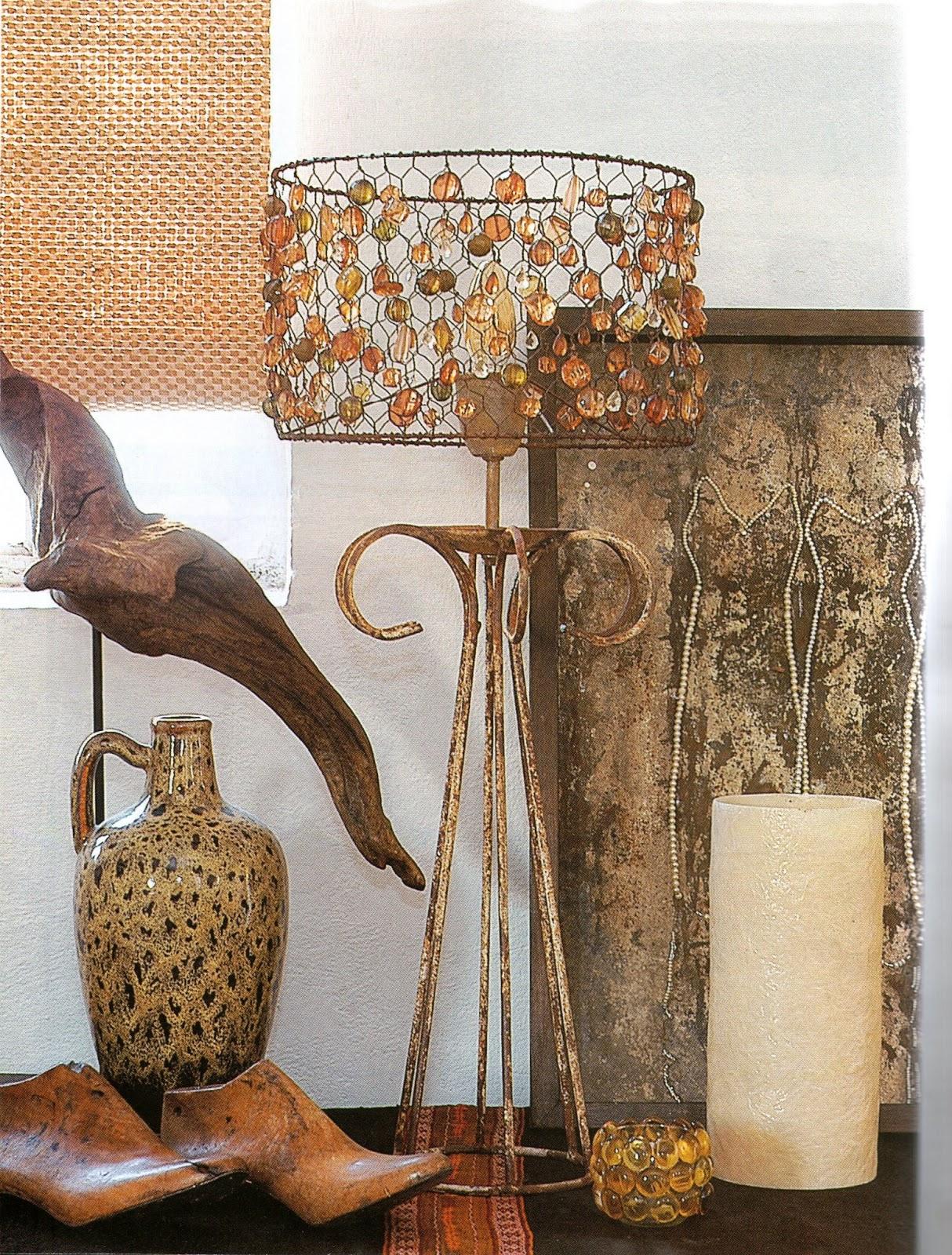 Manualidades y bellezas como hacer una linda lampara - Ideas para lamparas de techo ...