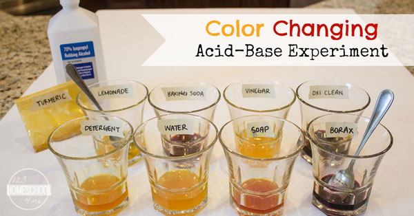 Acids And Bases Color Chart P Lp 2018