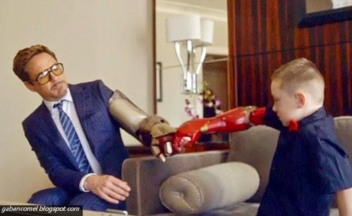 Menakjubkan Kanak kanak 7 Tahun Dapat Tangan Iron Man