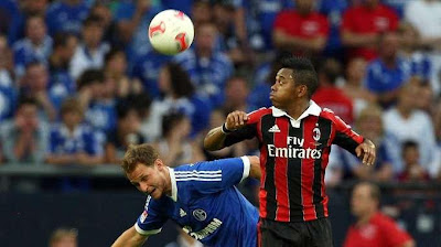 Schalke-Milan 0-1 highlights