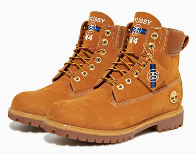 Stussy x Timberland Herbst/Winter 2013