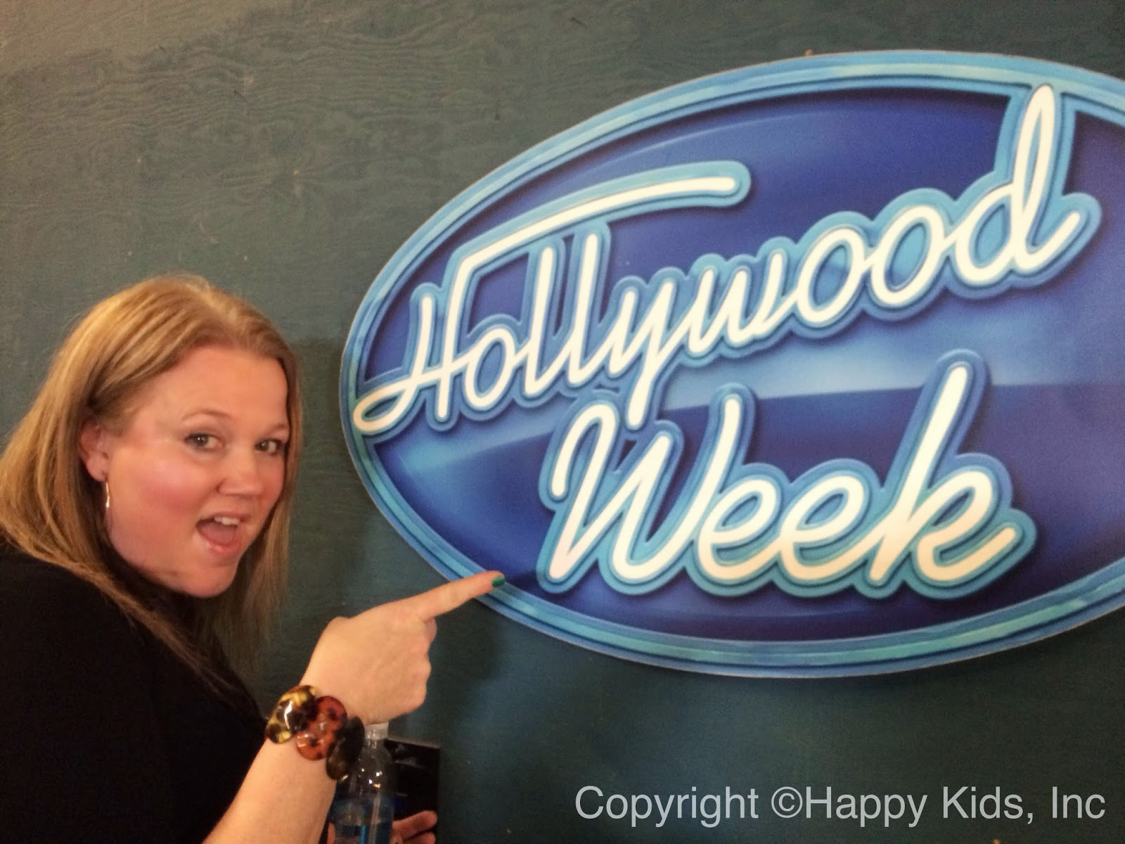 The Only Hollywood Week Sign At American Idol