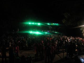 Orquesta en las fiestas de Lagunilla 2013
