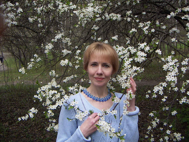 West Ukraine: Spring, Flowers, Women And Beaded Necklaces
