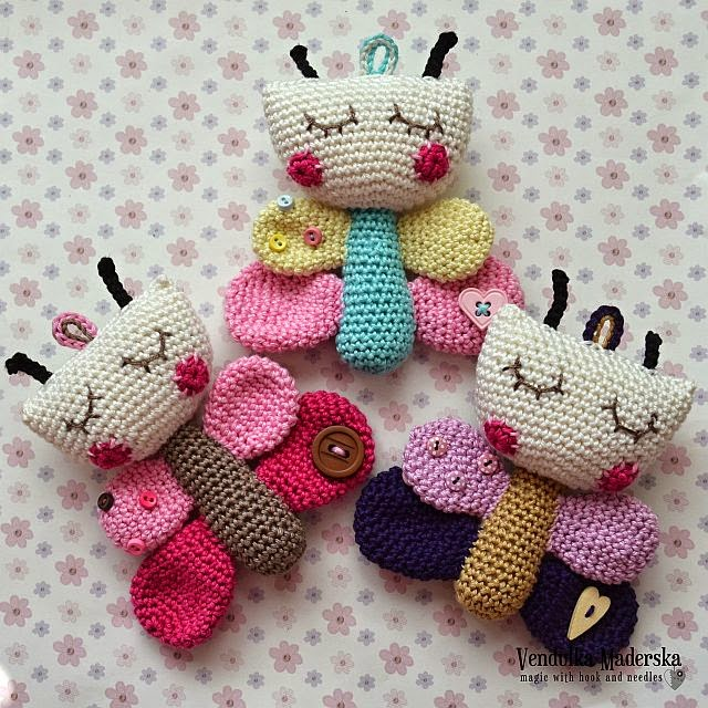 Free Amigurumi Christmas Ornament Patterns : Have a nice weekend :-) - Magic with hook and needles