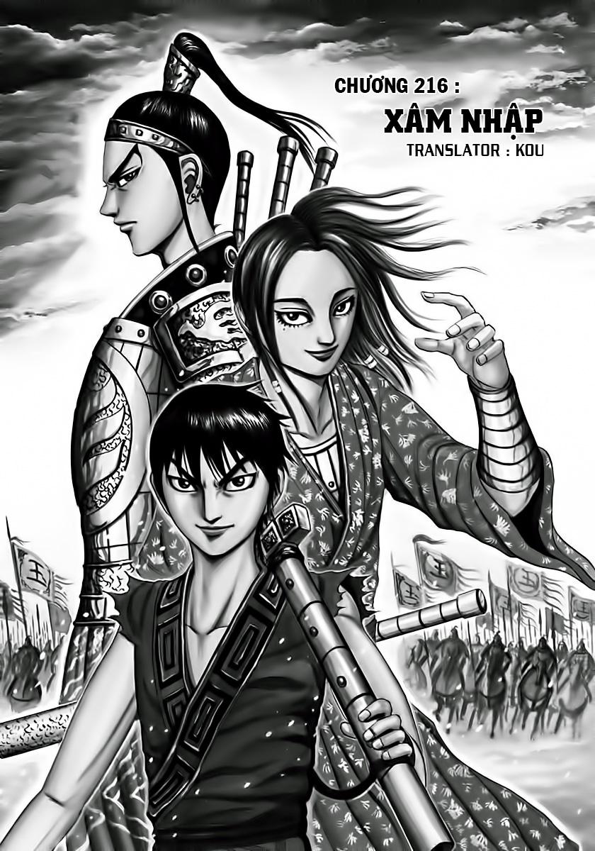 Kingdom – Vương Giả Thiên Hạ (Tổng Hợp) chap 216 page 2 - IZTruyenTranh.com