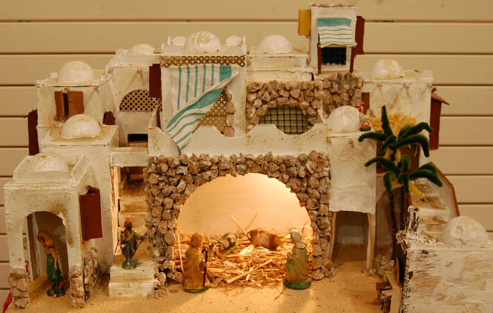 Straccetti di lusso mostra presepi seconda parte - Idee per costruire casa ...