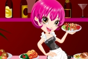 Garson Kız Giydirme Oyunu