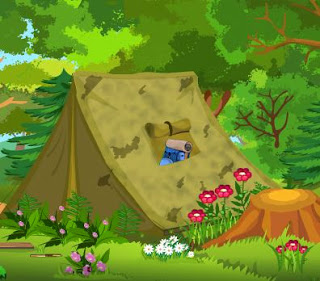 Juegos de escape Escape from Jungle Camping