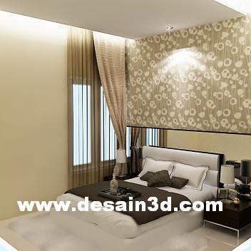 Jasa Desain Kamar Tidur Sempit Simple Minimalis Modern