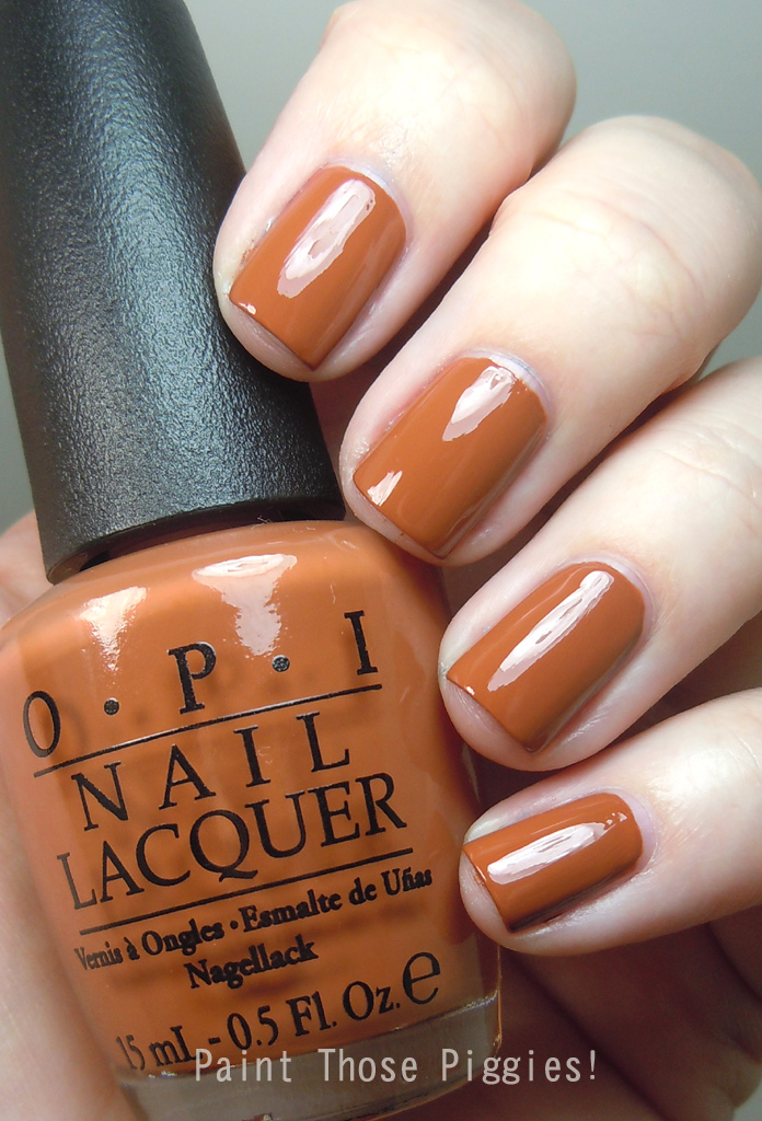 Paint Those Piggies!: OPI A-Piers To Be Tan: Swatches and ...