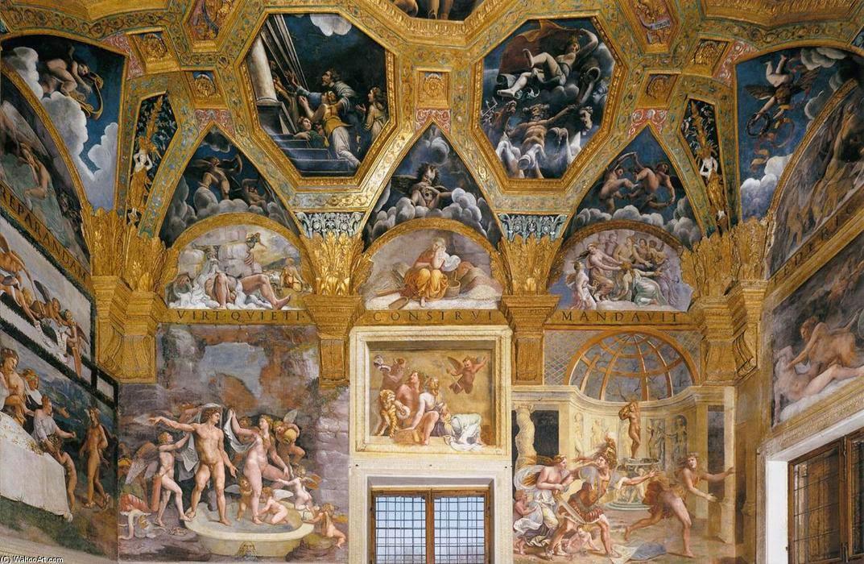 I promessi viaggi i dipinti nelle sale di palazzo te a for Stanza mantova