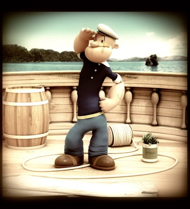 Popeye 3D Dfex3D