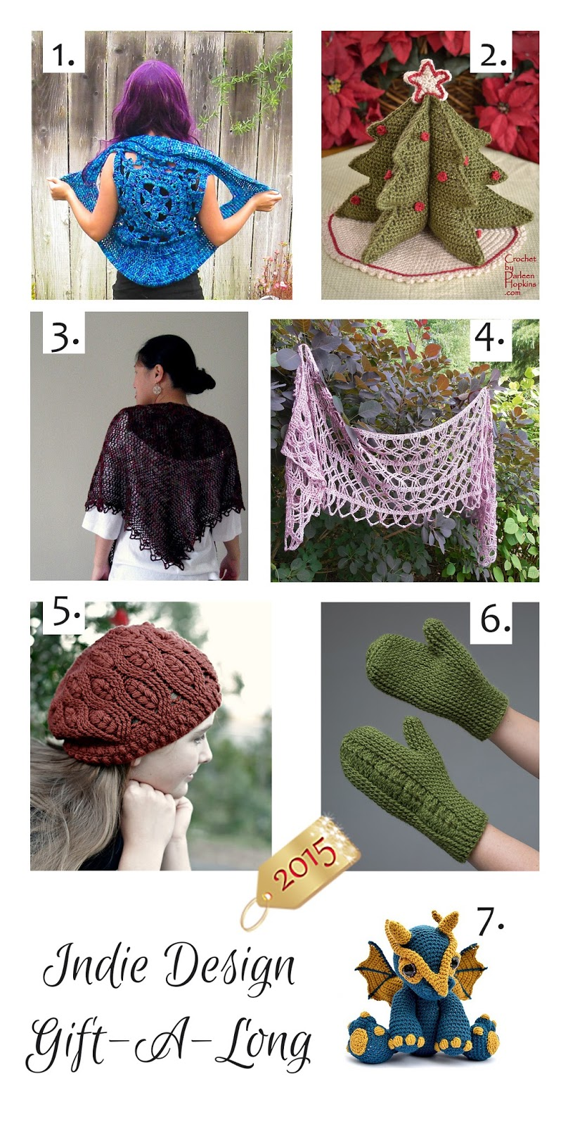 Knitting Like Crazy Indie Gal Feature Crochet Patterns